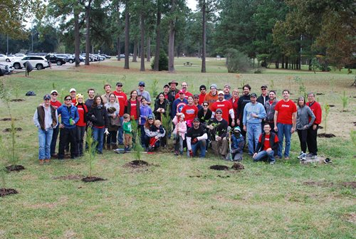 Image for Kirksey Celebrates 30th Year of Planting Trees for Houston Area